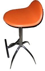 Expo Plus Bar stool - Orange