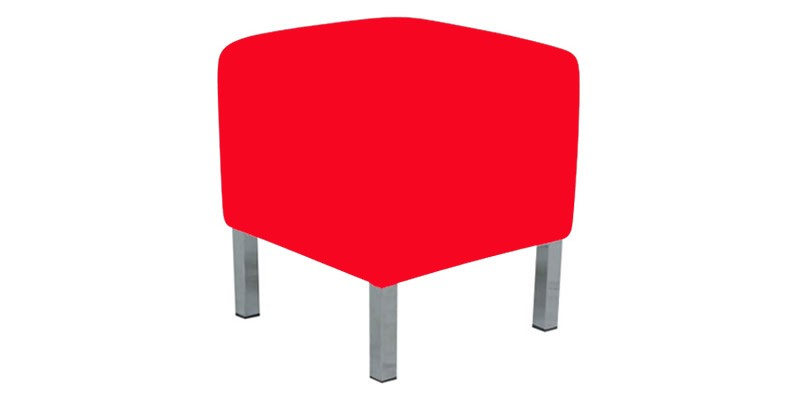 Small Ottoman Lounge - Red