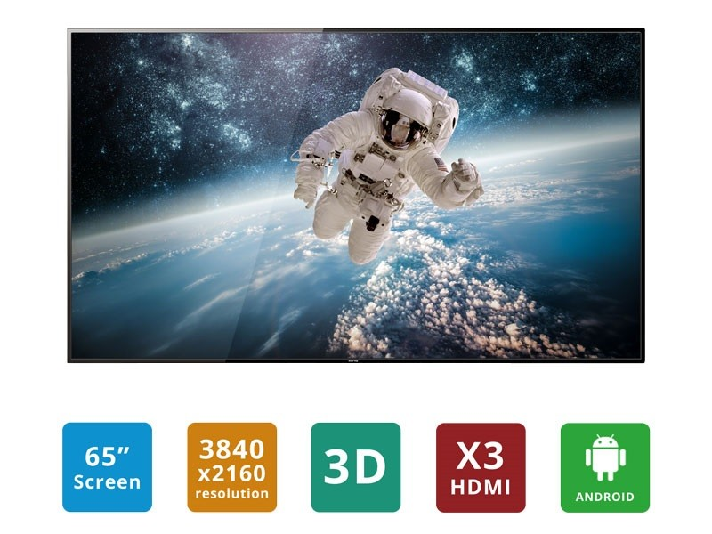 65 inch Ultra HD LED LCD Smart TV