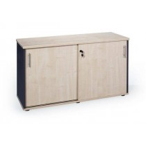 Timber Bronte Lockable Credenza - 1200mm