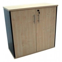 Timber Bronte Lockable Credenza \ Cabinet - 900mm