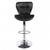 Euro PLUS Gas Lift Bar Stools - Black