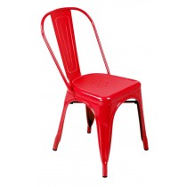 Expo Tolix Chair - Gloss Red
