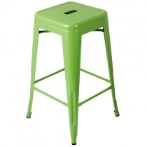 Expo Tolix High Stool - Green