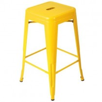 Expo Tolix High Stool - Yellow