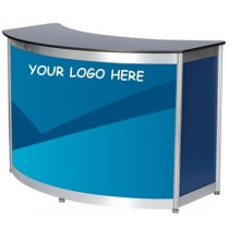 Digital Print Panel For Octanorm Expo Curved counter