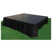 Stage - carpeted top with bottom Skirt (300mmH).