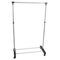 Adjustable clothes rack stand.