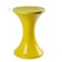 Retro Arcade stool - Yellow
