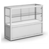 Glass Display  Cabinet /  Showcase Counter with storage