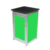 Lockable Expo Display Module - Green