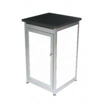 Lockable Expo Display Module - White