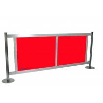 GAP Barrier Fencing - Red