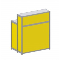 Registration Counter - Yellow
