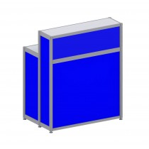 Registration Counter - Blue