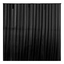 3x3m Black Stage Backdrop Curtain / Drape